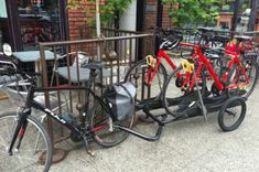 PedalAnywhere: On demand rental bikes delivered by bike and trailer