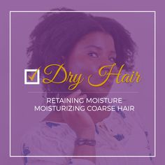 "The NUMBER 1 reason why a lot of women are reluctant about going natural or are quick to cut their Natural hair journey short is mostly due to the ""dry hair epidemic"" in the Black hair community. No matter how many products we use on our hair, it seems like nothing can keep our kinky …"