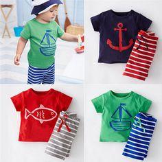 >> Click to Buy << 2017 Boys clothing set children sport suits children's clothing sets for kids totton clothes set boy T-shirt+ short pant #Affiliate