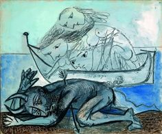 L'exposition présentée au palais Longchamp à Marseille trouve son point de départ dans les tableaux de Van Gogh peints à Arles à la fin des années 1880. Le titre même de « Grand Atelier du Midi » se retrouve dans la correspondance du peintre lorsqu'il rêve d'une communauté artistique sous le flamboiement de la lumière …
