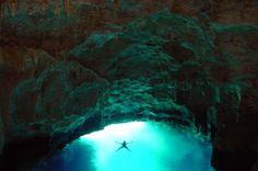 Mariners Cave in Vava'u Tonga