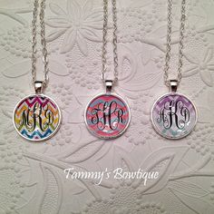 Great Christmas present! Monogram Necklace Personalized Jewerly