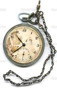 Pocket watch glass gone