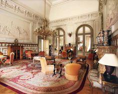 Inside the Royal Castle of Laeken.