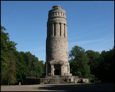 Bochum - Culture The Bismarcktower, a Bochum landmark