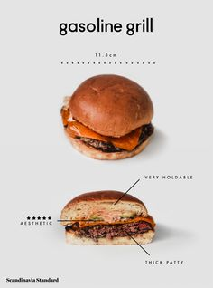 Find out where to get the best freshly-baked bread and pastries in Copenhagen, Denmark. Food Graphic Design, Food Poster Design, Menu Design, Food Design, Fat Burger, Burger Menu, Good Burger, Hangover Food, Poster