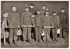 Children labored in the mines: Old Photos of America's Children 1850-1930