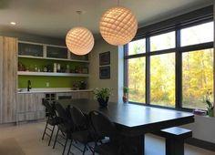 This designer kitchen