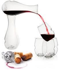 #Govino shatterproof glasses and decanter.