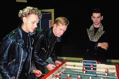 Depeche Mode, photo by Terrasson