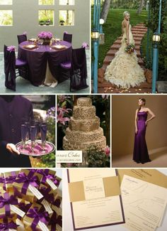 I love the colors!! And the bride dress