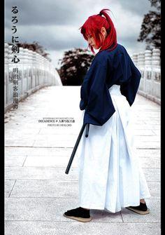 Kenshin Himura cosplay.