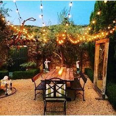 W x 16 Ft. D Solid Wood Pergola - String Lights Outdoor Pergola Diy, Wood Pergola, Patio Gazebo, Backyard Patio, Backyard Landscaping, Pergola Ideas, Patio Ideas, Landscaping Ideas, Backyard Ideas