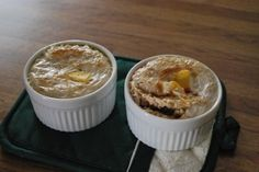 ... big ¼ cup steel cut oats ½ cup whole milk Peanut Butter Maple Syrup