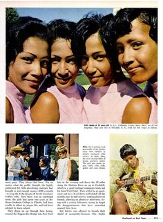Fultz Quadruplets in Ebony Magazine, pt 2, November 1968