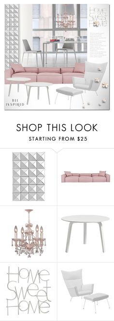 """""""HOME SWEET HOME"""" by drn57 ❤ liked on Polyvore featuring interior, interiors, interior design, home, home decor, interior decorating, Eichholtz, Crystorama and HAY"""