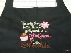 Kitchen apron ordered -- she LOVED it!