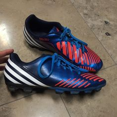 Adidas Soccer Cleats Adidas predito cleats. Great condition! Only worn for  one season. d3a06e88e3