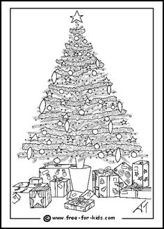 Difficult Christmas Coloring Pages For Kids And Adults