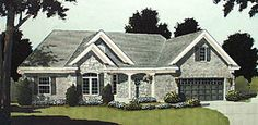 European   Ranch   Traditional   House Plan 97740