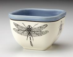 Handmade homeware collection including ceramic dinnerware, serviceware, and textiles for the home. Dragonfly Images, Dragonfly Wall Art, Dragonfly Jewelry, Bernardo Y Bianca, Dragon Fly Craft, Spirit Signs, Heart Stencil, Clay Bowl, Ceramic Bowls