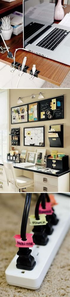 Effective Home Office Organization Ideas