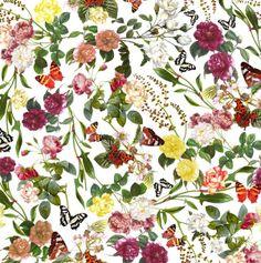 Estamparia Digital - Fashion Patterns on Behance Botanic print