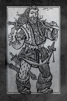 Hobbit sketchbook 4 by SceithAilm on deviantART