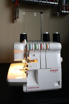 Dixie DIY: Never Fear Knits Pt 5 ~Sewing knits with a serger