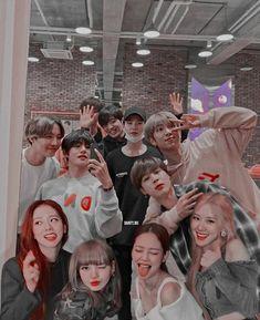 Bts Aesthetic Wallpaper For Phone, Bts Wallpaper, Kpop Couples, Cute Couples, Blackpink Photos, Pictures, Korean Best Friends, Nct Group, Bts Girl
