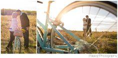 Cruiser Bike Engagement Photography, Engagement Photos, Sun Kissed Engagement Photos, Bike Engagement Photography