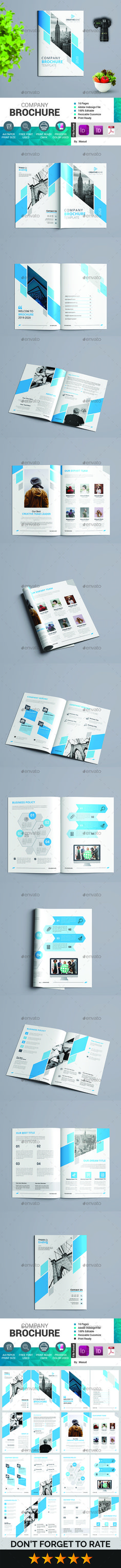 Stock Template Of Business Proposal Layout With Teal And Green