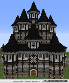Side project i worked on, some kind of tudor mansion :)