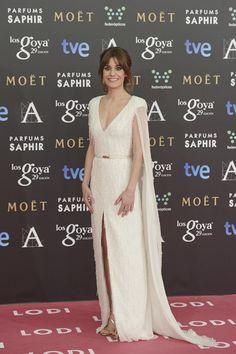Alexandra Jimenez at the Goya Awards.