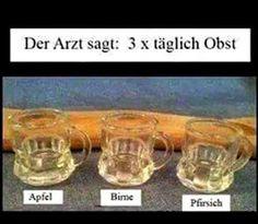 Das Saufblog - für Alkis und trockene Trinker: Auf ärztlicher Verordnung.