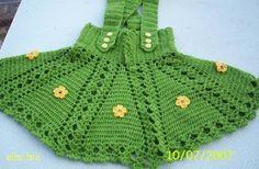 El İşleri: TIĞ ÖRGÜSÜ KIZ ELBİSELERİ2 Crochet Baby Clothes, Cute Baby Clothes, Moda Crochet, Knitted Hats, Crochet Hats, Crochet Needles, Beautiful Crochet, Baby Dress, Baby Knitting