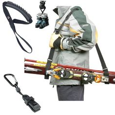 Ski Strap Carrier, Ski Boot Tote, Ski Glove Clip Carabiner - Stocking Stuffer Special! by Spits Adventure Wear. $29.95. Christmas Stocking Stuffer! Complete handy ski carrier system. Don't be unorganized at the slopes. Our Package includes one Ski Strap Carrier made of durable nylon webbing to carry your skis over your shoulder effortlessly. We have included the Ski Boot Tote, carry your boots with one hand, no messing around, and at last we have included our Ski Glove ...