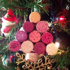 Wine Cork Ornaments D.I.Y. Design, Imagine, You*nique: Wine Cork Ornaments