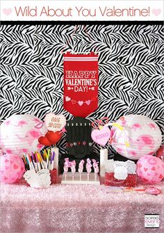   Wild About You Valentine's Day Party Playdate!   http://soiree-eventdesign.com