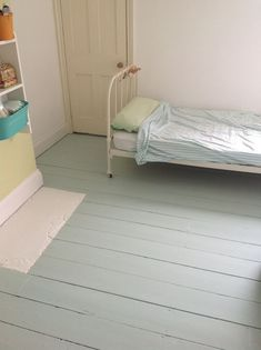Farrow and Ball floor paint Love painted floors....maybe P's room?!