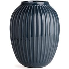 Kähler Hammershøi Vase Antracitgrå H250 (€67) ❤ liked on Polyvore featuring home, home decor and vases