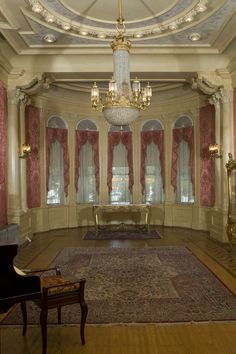 The parlor in Rhodes Hall, Atlanta, GA
