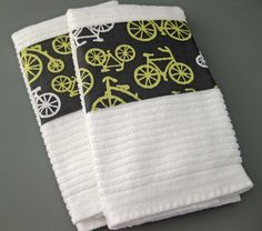 cute idea for kitchen towels