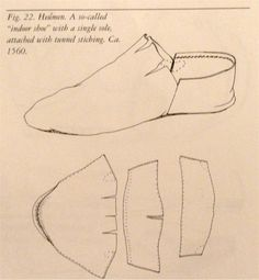 Lesson 7: Mid 16th C. Shoes (Stacked Leather) - Chopine, Zoccolo, and Other Raised Heel and High Heel Construction