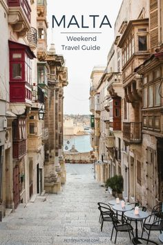 Travel Guide to Malta. How to spend 3 days in Malta.