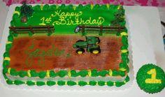 John Deere cake