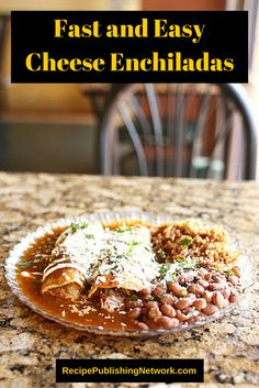 Cheese and enchiladas are a pair made in heaven. No enchiladas recipe would be complete without some nice melted cheese to smother them in.