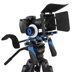 Master Guide to Rigging a Blackmagic Design Cinema Camera - Part 3 - Matte boxes and Follow focus systems.