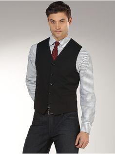 $59.99 Pronto Uomo Tailored Vest with black kahki or chino?