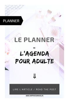 le planner l'agenda pour adulte -   L'outil pour noter ses rendez-vous, faire des listes de tâches à effectuer et s'organiser au quotidien. Agenda créatif, personnalisable et ludique !